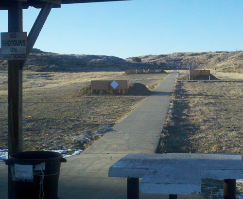 200 Yard Rifle Range